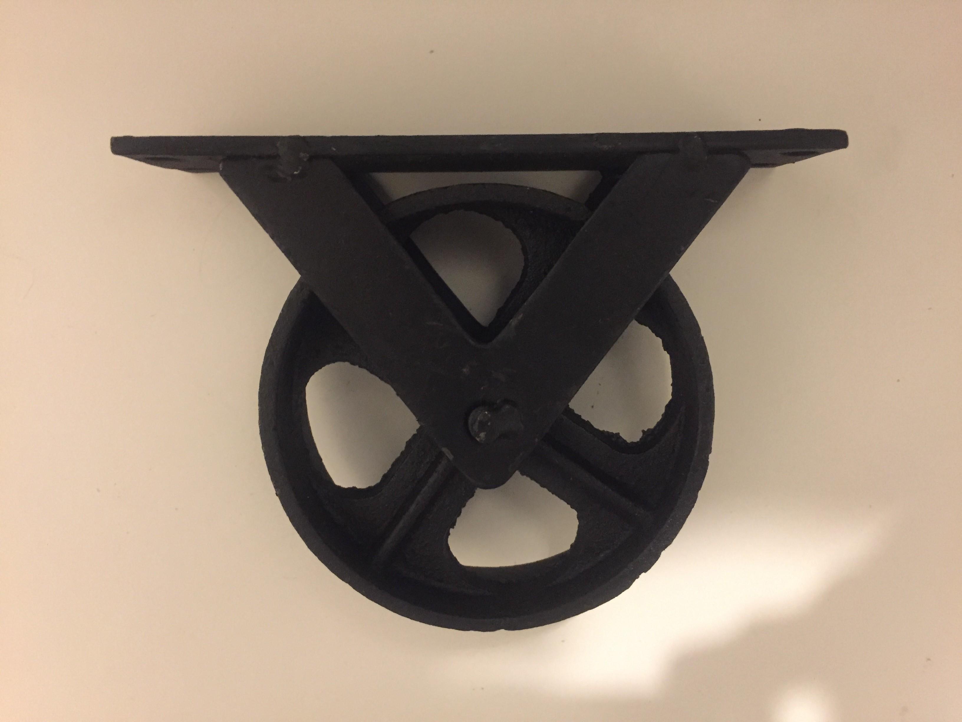 Gjutjärnshjul