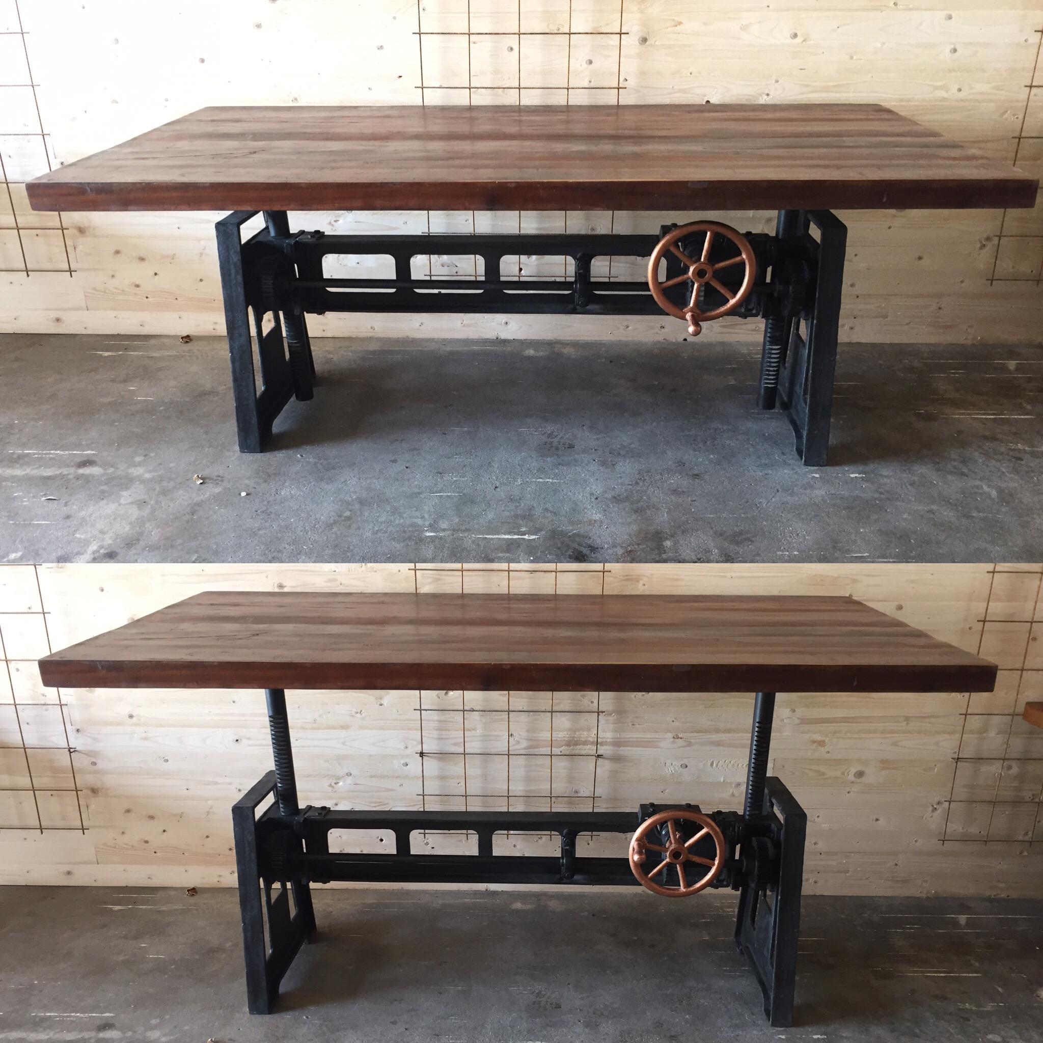 Höj- och sänkbart barbord/matbord